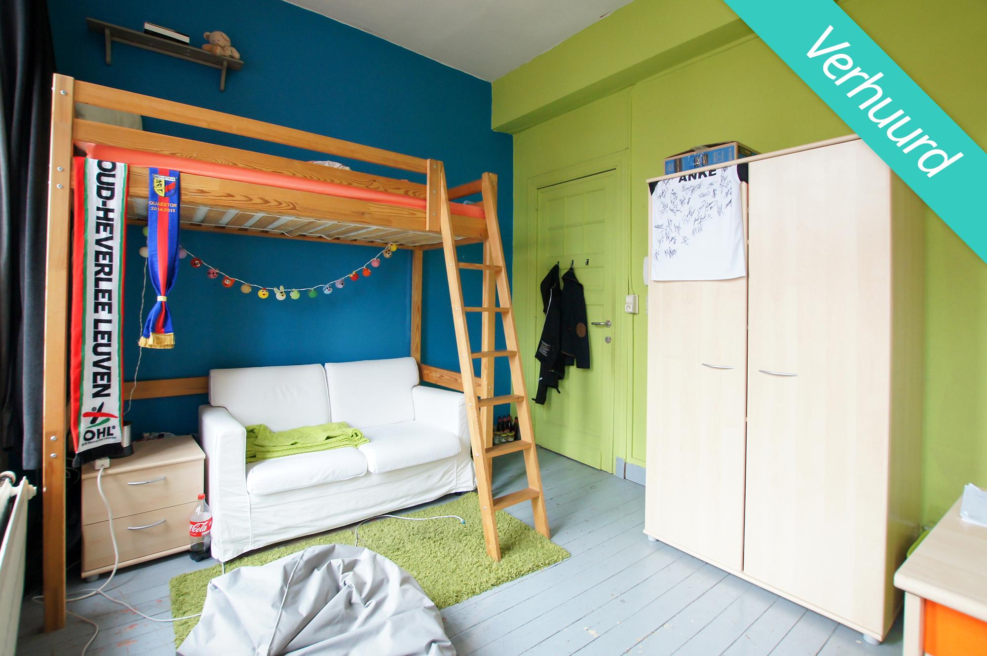 Kamer 6 - Tiensevest 10 - verhuurd
